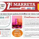 ZÉ MARRETA Nº 1428 – ArcelorMittal não valoriza trabalhadores [Edital]